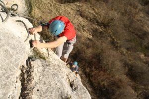 initiation à la via-ferrata dans le Doubs