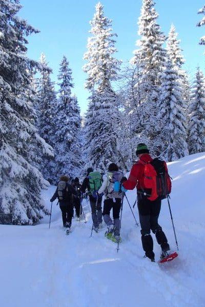 Séjour itinérant en raquettes à neige dans le Jura Suisse avec SportsNatureEvasion